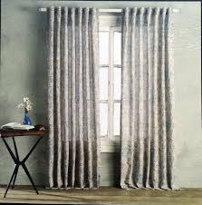 Cynthia Rowley New York Window Curtains by Rowley Tan Blue Green Jacobean Floral Window Curtain Panels 52x84 Pair