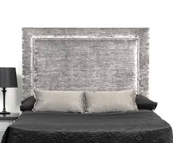 White Velvet King Headboard by Emerald Home Aden Panel Bed With Upholstered Headboard King Sag