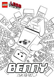 For Kids Download Lego Movie Coloring Page 23 Free With
