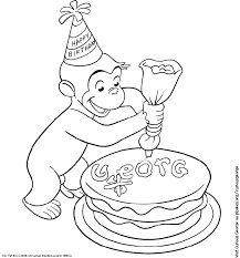 Perfect Curious George Coloring Pages 17 About Remodel Picture Page With