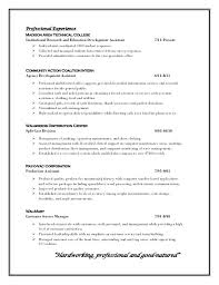 Resume Professional Profile Examples Of Profiles On Resumes Customer Service