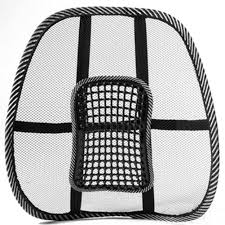 Back Massage Pads For Chairs by Amazon Com Toogoo R Mesh Back Lumbar Support Massage Beads For