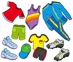 Sports Clothes Clipart 1