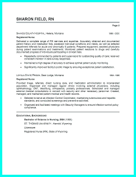 Resume Format For Nurses Best Sample Template And Images On Critical Care Nursing
