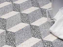 Terrazzo Tile GROSSO Ornament Trapezium Einbaubeispiel Image Title Example Of Installation