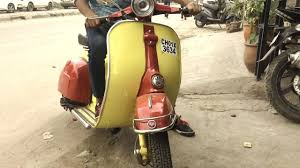 1982s Old Vintage Scooter In India
