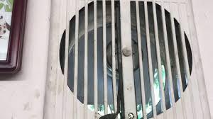 Fasco Bathroom Exhaust Fan Motor by 1950s Fasco Exhaust Fan Youtube