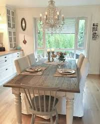 country dining room table and decor ideas 50