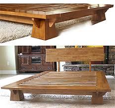 Platform Bed Frame by Platform Beds Low Platform Beds Japanese Solid Wood Bed Frame