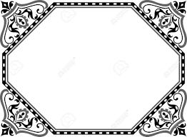 Muslim Wedding Border Clipart