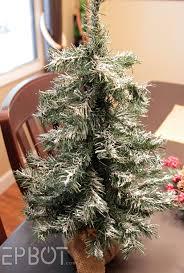 White Flocked Christmas Tree Walmart by Epbot Easy Diy Tree U0026 Wreath Flocking Redux