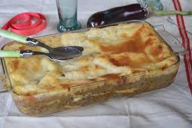 paruline en cuisine lasagnes façon moussaka au fil du thym