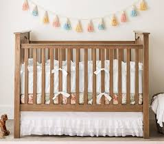 Side Crib Attached To Bed by Kendall Convertible Crib Pottery Barn Kids
