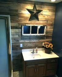Country Bathroom Decor Themed Small Rustic Bathrooms Ideas On Makeover