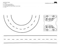 Road Coloring Pages 8 Page