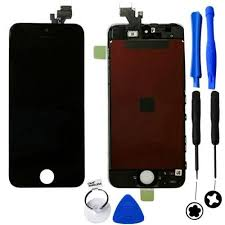 iPhone 5 Screen Replacement Kit Digitizer LCD Black or White