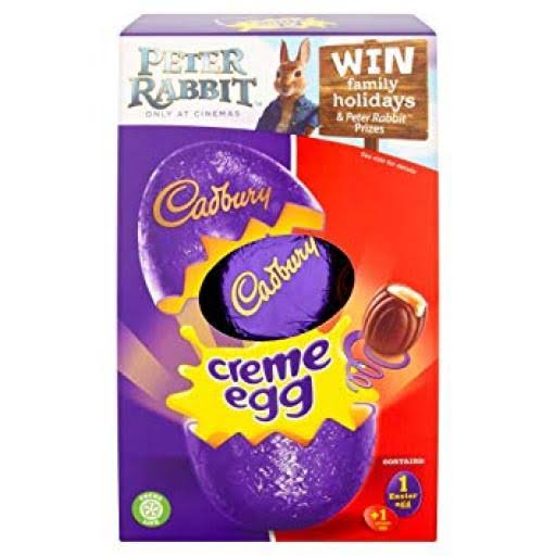 Cadbury Creme Egg Medium Chocolate Easter Egg - 138g