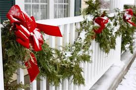 balcony diy outdoor christmas decorations on a budget decorating