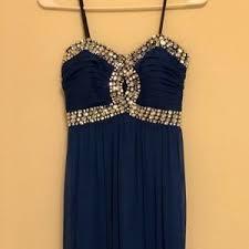 jcpenney light blue dress s jcpenney prom dress on poshmark