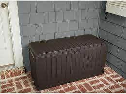 Suncast 50 Gallon Deck Boxstorage Bench by Amazon Com Patio Box Storage Deck Outdoor Garden Bench Pool