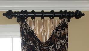 Decorative Double Traverse Curtain Rods by Curtain Rods With Pull String Mommaon Decoration