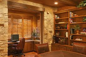 Home Office Rustic Style