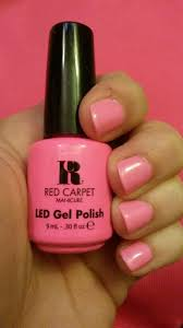 Red Carpet Manicure Led Light by Red Carpet Manicure Gel Polish Star Power Pink Nails