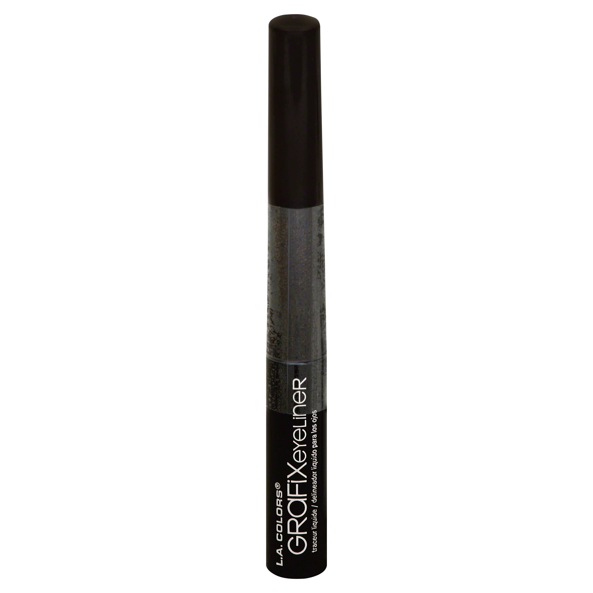 La Colours Grafix Liquid Eyeliner - 734 Dark Brown