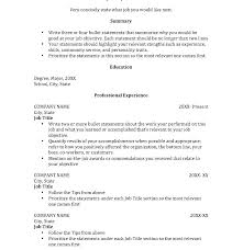 Write Resume Internship No Experience Sample For College Students Accounting Samples Student C
