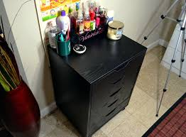 Linnmon Alex Desk Black by Eight Bit Beauty Dupe Day 2 Ikea Alex Drawer Dupe Drawers