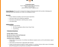Free Resume Samples For Customer Service Sample Objective Statements College Students Fresh Graduates Of Accountancy Highschool