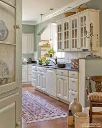 Sage Green Kitchen White Cabinets by Best 25 Cream Kitchens Ideas On Pinterest Cream Kitchen Paint