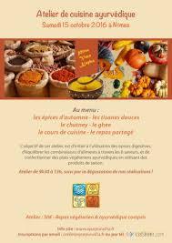 formules cuisine ayurpurusha ayurveda nimes