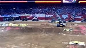 Best Of Monster Truck Grave Digger _ Jumps, Crashes, Accident ...
