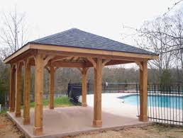 Patio Cover Plans Free Standing New ordinary Patio Roof Plans Free
