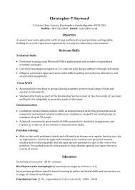 Resume Related Skills - Erha.yasamayolver.com