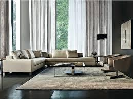intérieur et canapé design d intérieur canape angle beige minotti pourquoi choisir