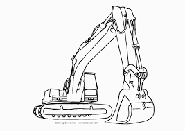 Coloriage Bulldozer Et Dessin À Imprimer Intérieur Tractopelle