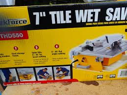 Workforce Tile Cutter Thd550 Manual by Workforce 7 Tile Saw Saw Palmetto For Bph
