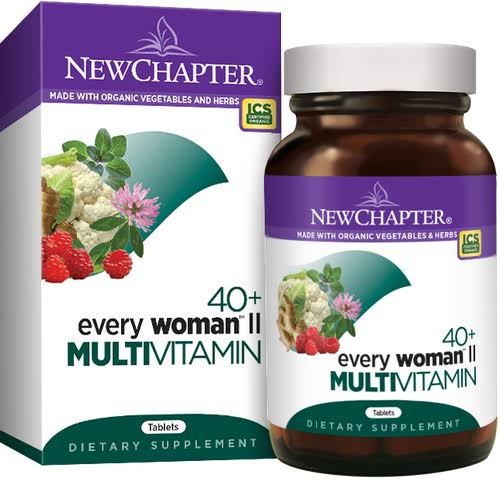 New Chapter 40 Every Woman II Multivitamin - 96 Tablets