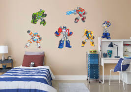 Fathead Baby Wall Decor by Transformers Rescue Bots Collection Wall Decal Shop Fathead For