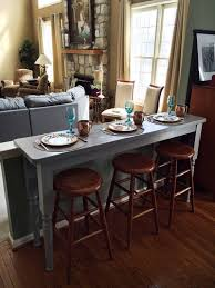 Dining Room Couch by Best 25 Table Behind Couch Ideas On Pinterest Sofa Table With