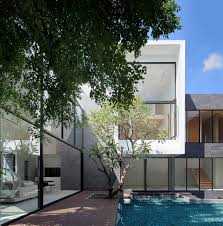 100 Modern Homes With Courtyards Home Designs Beautful Pools Best Blue Pool Spectacular
