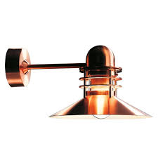 louis poulsen nyhavn copper outdoor wall sconce for sale at 1stdibs