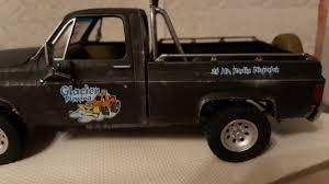 100 Truck With Snow Plow WIP Revell 1977 GMC Pickup With Modelmakers
