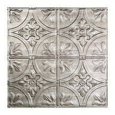 Fasade Thermoplastic Ceiling Tiles by Fasade Traditional 2 2 Ft X 2 Ft Lay In Ceiling Tile In