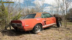 100 Classic Trucks For Sale Texas Little Red 1967 D Mustang Shelby GT500 Found After 50 Years