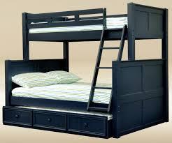 Hampton Twin over Full Bunk Bed Blue Bunk Beds