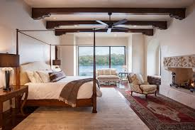 Lakeside Spanish Colonial Mediterranean Bedroom