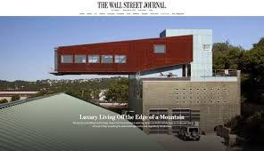 100 Home And Architecture The Wall Street Journal Cliffside S Fisher ARCHitecture